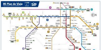 Mapa de rutas para Transmilenio