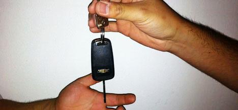 Traspaso de propiedad de vehículo