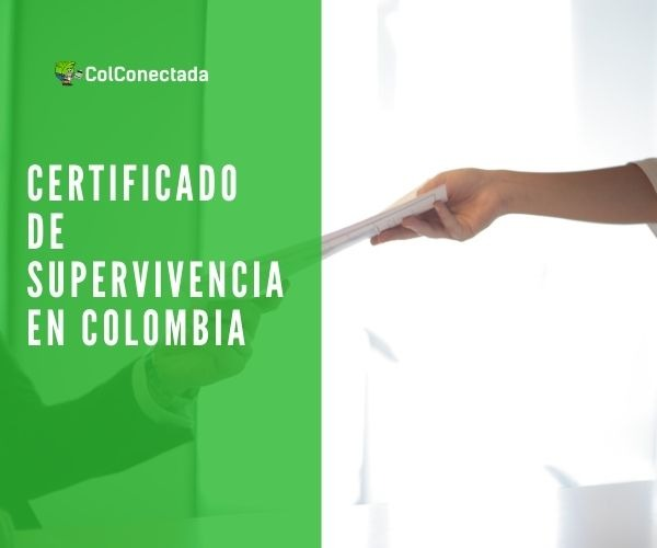 Certificado de superviviencia