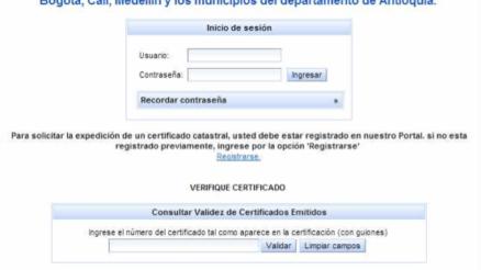 Certificado Catastral Nacional Agustín Codazzi 3