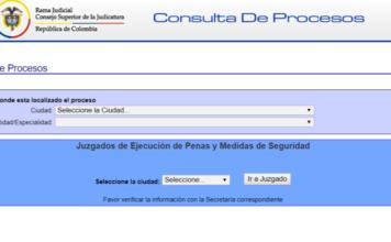 Consultar proceso judicial