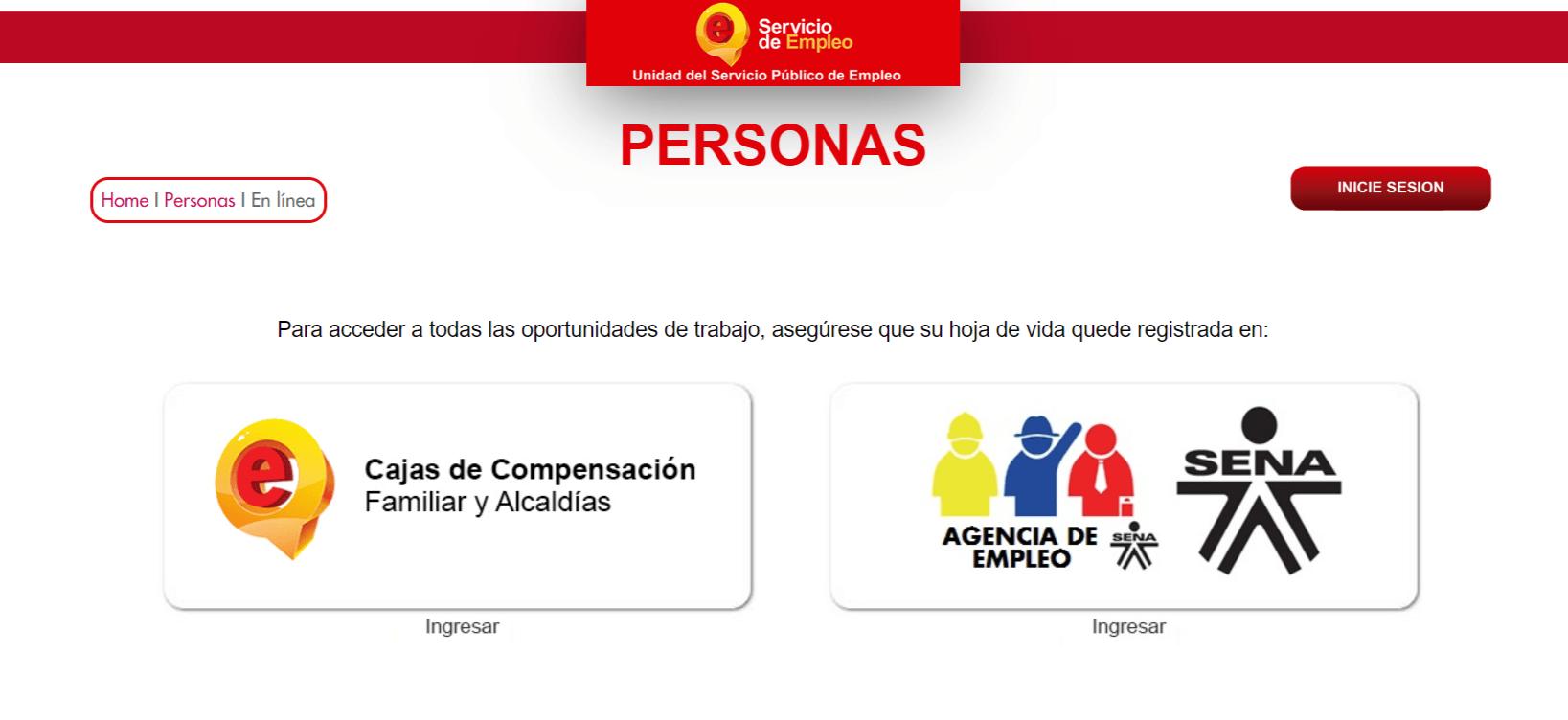 Registrar hoja de vida en el Servicio Público de Empleo