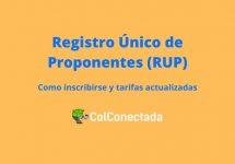 Registro único de proponentes en Colombia
