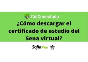 Sena virtual: Certificado de estudio 3