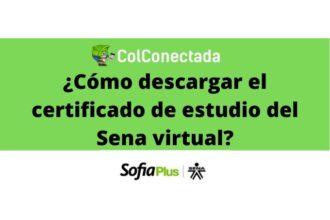 Sena virtual: Certificado de estudio 4