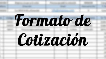 Formato de cotización en Excel y recomendaciones 2