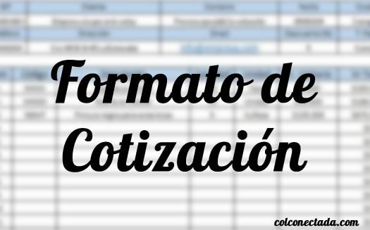 Formato de cotización en Excel y recomendaciones 10