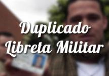 Duplicado de la libreta militar en Colombia