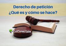 Derecho de petición, qué es y modelo de presentación