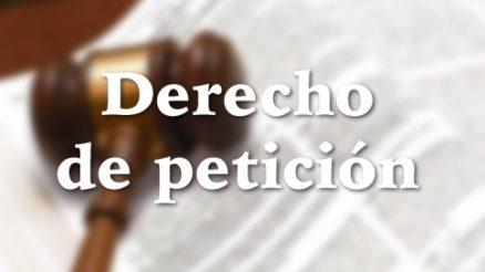 Derecho de petición, qué es y modelo de presentación 3