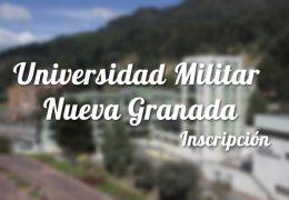 Universidad Militar Nueva Granada: Inscripciones y carreras