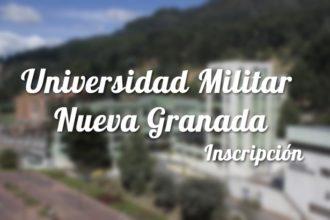 Universidad Militar Nueva Granada: Inscripciones y carreras 16
