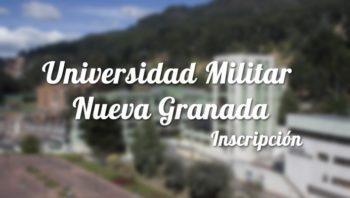 Universidad Militar Nueva Granada: Inscripciones y carreras 5