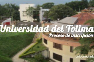 Universidad del Tolima: Proceso de inscripción y admisión 22