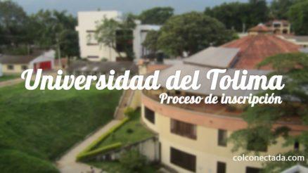 Universidad del Tolima: Proceso de inscripción y admisión 8