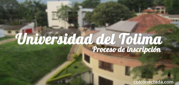 Universidad del Tolima: Proceso de inscripción y admisión 7