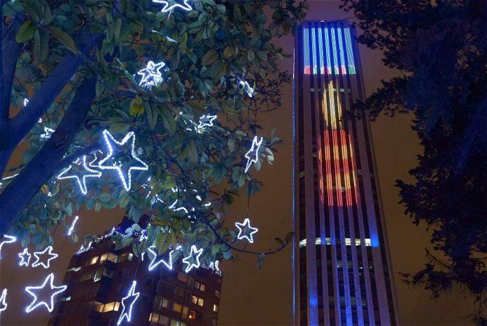 Torre Colpatria Bogotá - Año nuevo