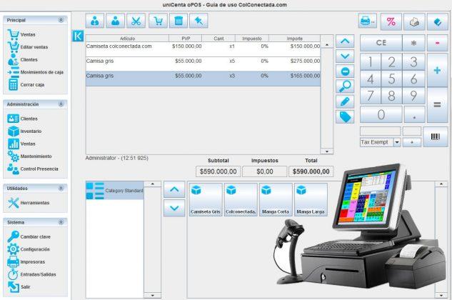 Software punto de venta para PyMes 2