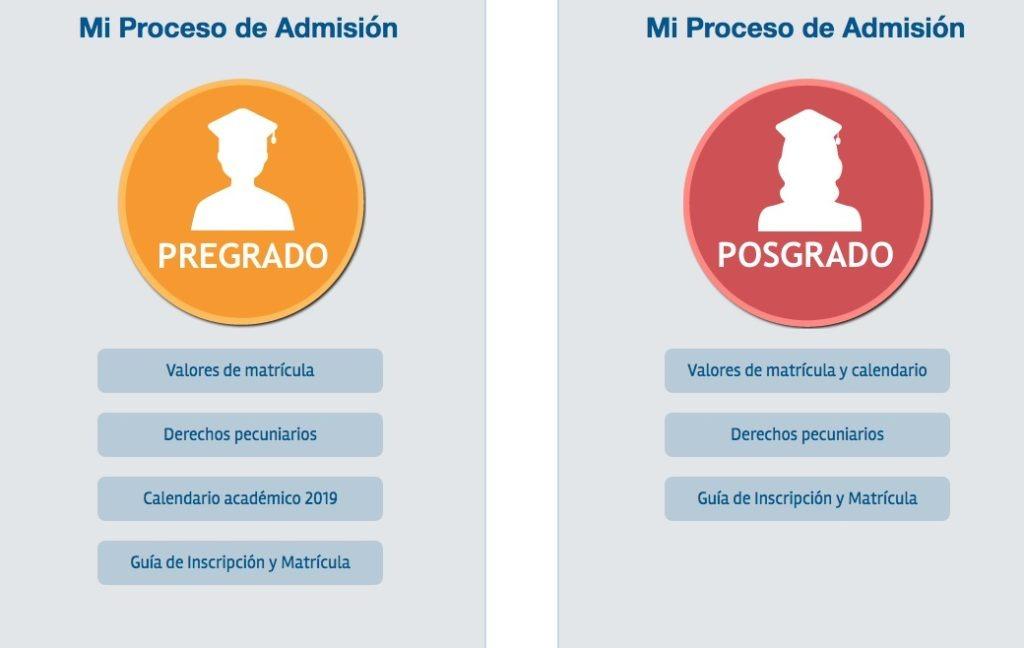 Universidad Jorge Tadeo Lozano - Inscripción 2