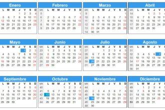 Calendario 2015 Colombia 2