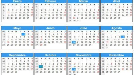 Calendario 2015 Colombia 1