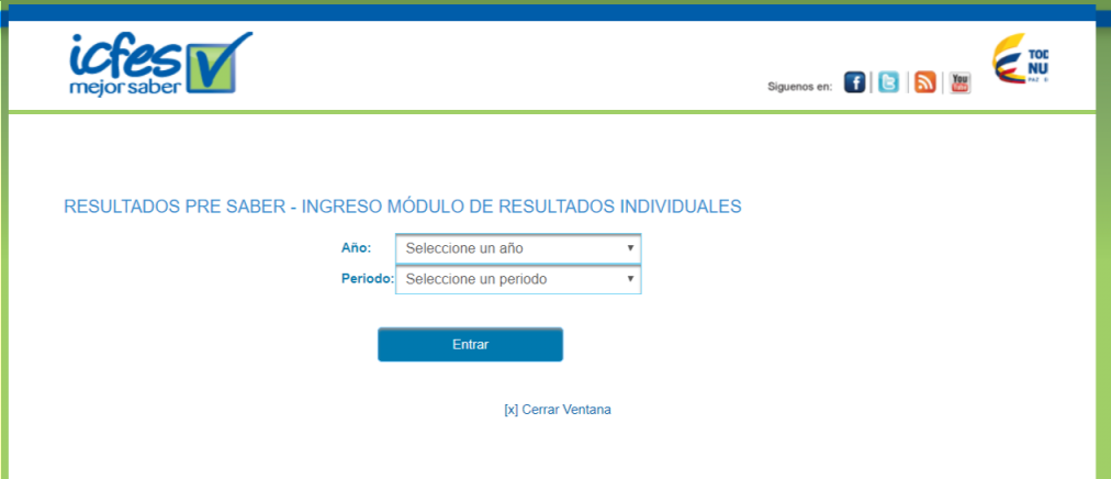 ICFES: Consultar resultados de exámenes por Internet 1