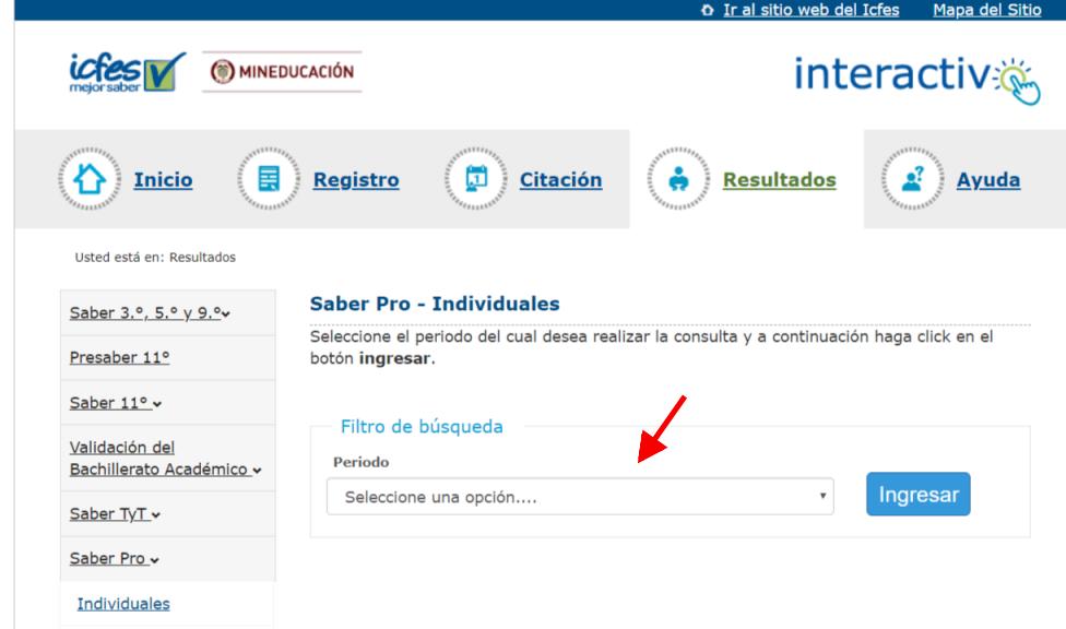 ICFES: Consultar resultados de exámenes por Internet 11