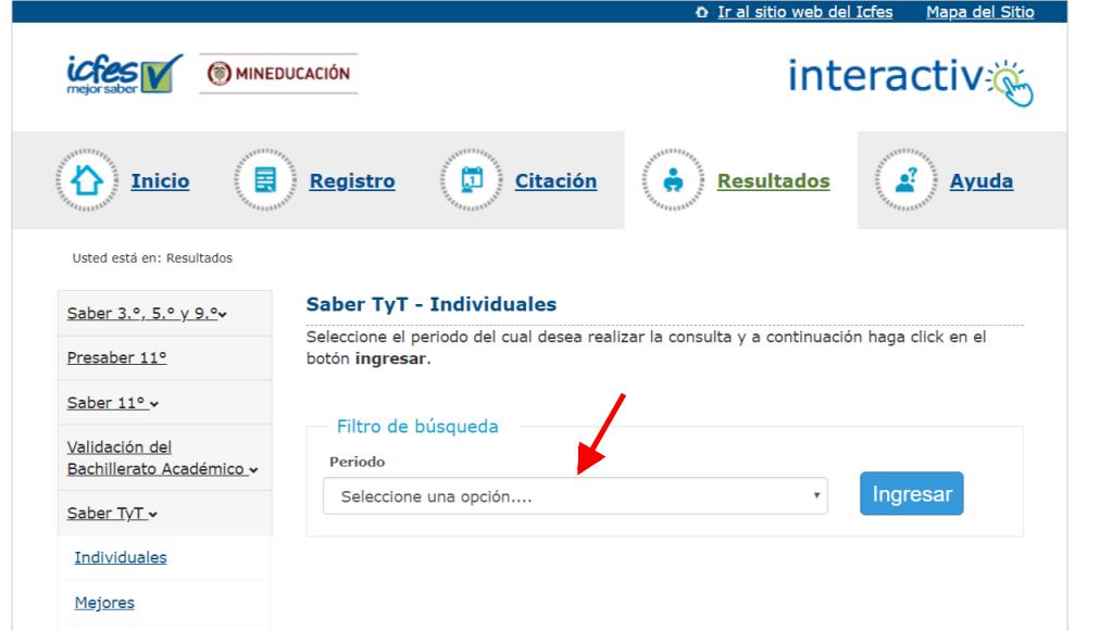 ICFES: Consultar resultados de exámenes por Internet 13