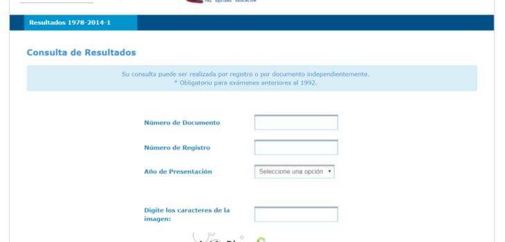 ICFES: Consultar resultados de exámenes por Internet 2
