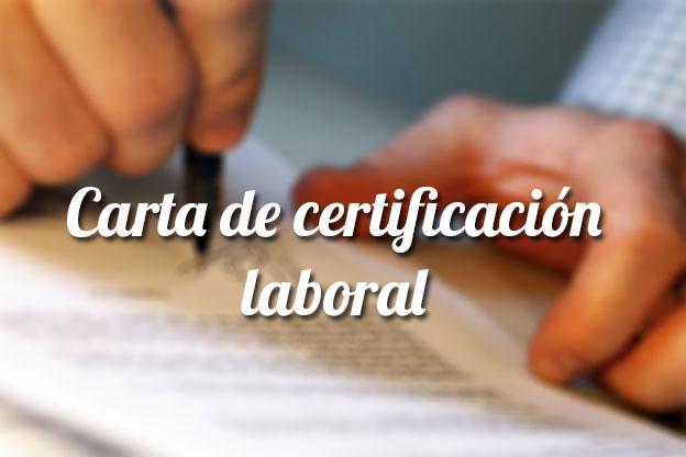 Carta De Certificaci N Laboral Plantilla