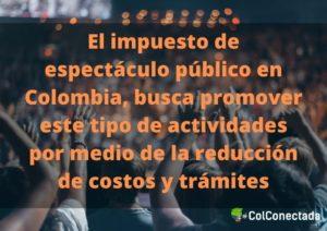 Impuesto de espectáculo público