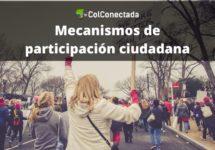 Mecanismos de participación ciudadana en Colombia