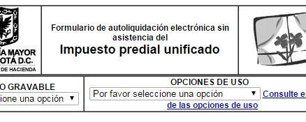 Impuesto predial en Bogotá 2015 1