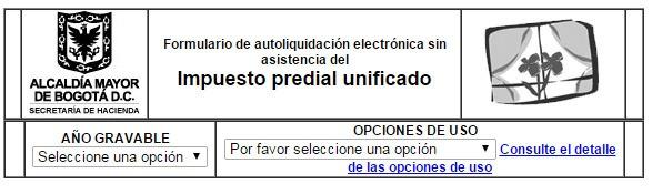 Impuesto predial en Bogotá 2015 2
