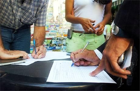 Firmas para revocatoria de mandato