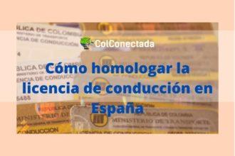 Homologar la licencia de conducción en España