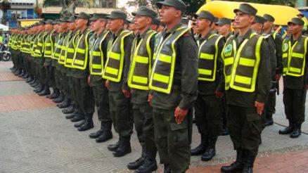 Servicio militar en la Policía Nacional de Colombia 2
