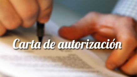 Cómo hacer una carta de autorización con ejemplo 3