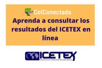consultar los resultados de ICETEX