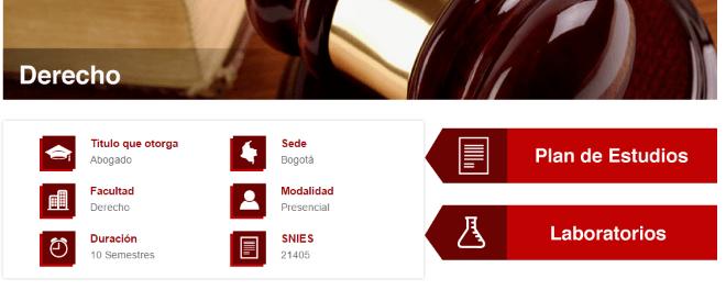 Universidad Manuela Beltrán Derecho