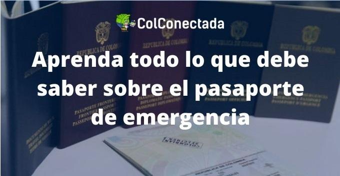 Cómo solicitar el pasaporte de emergencia 1