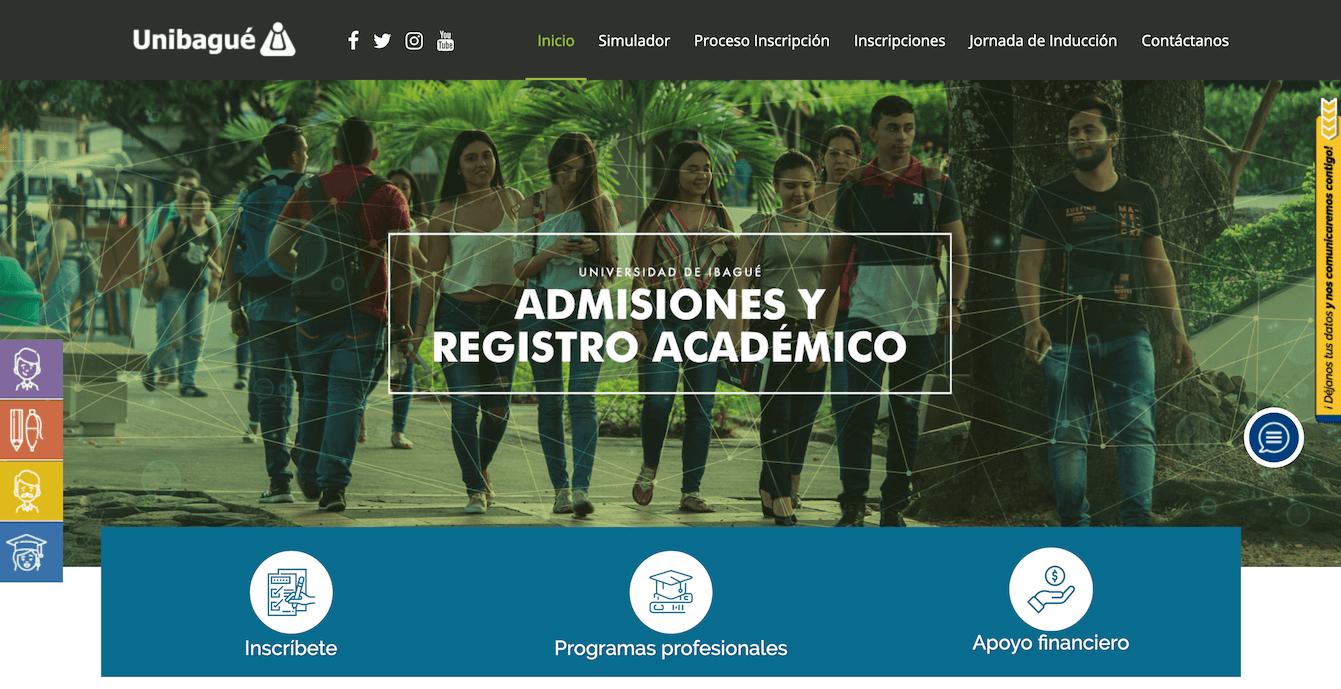 Universidad de Ibagué: Información de carreras e inscripción 1