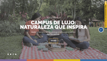 Portal web de la Universidad de Ibagué