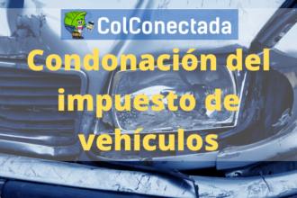 Condonación del impuesto de vehículos