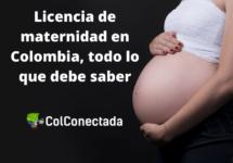 Licencia de maternidad en Colombia