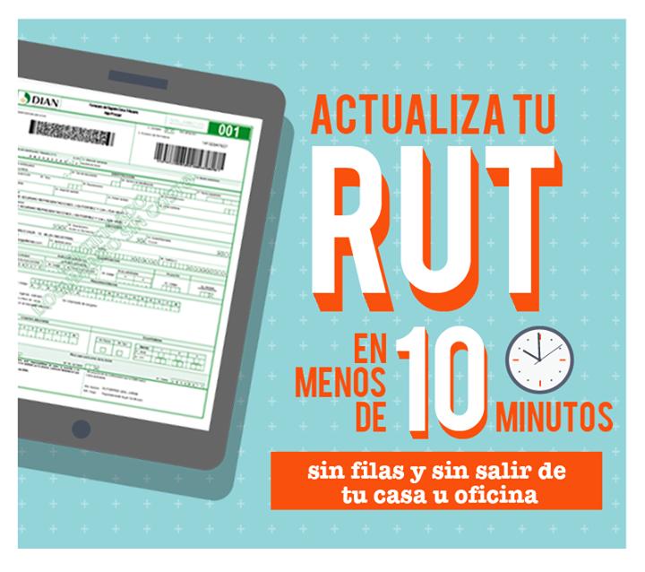Cómo actualizar el RUT por Internet 2