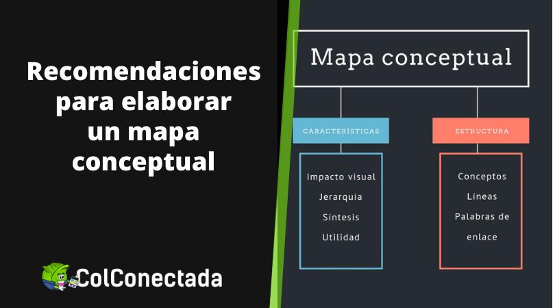 Cómo hacer un mapa conceptual y herramientas 8