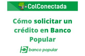 crédito en Banco Popular