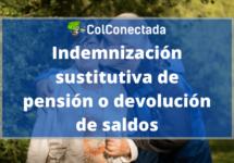 Cómo obtener una indemnización sustitutiva de pensión