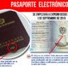 Pasaporte electronico